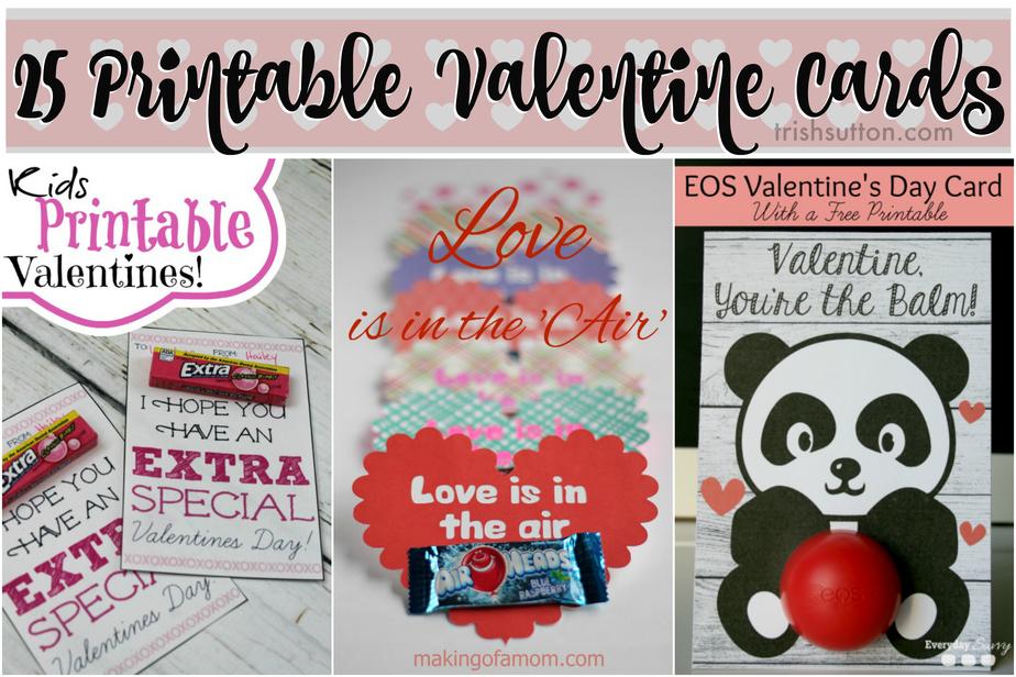photograph regarding Extra Gum Valentine Printable named 25 Cost-free Printable Valentine Playing cards for Little ones