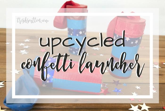 Upcycled Confetti Launcher, trishsutton.com