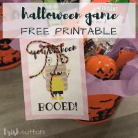 Halloween Fun You've Been Booed Free Printables