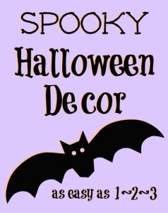 Spooky Halloween Decor Bats Free Printable; TrishSutton.com