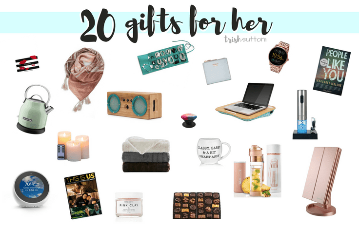 Gift Guide for Her | 20 Gift Ideas for Ladies  sc 1 st  By Trish Sutton & Gift Guide for Her | 20 Gift Ideas for Ladies From $10 - $165