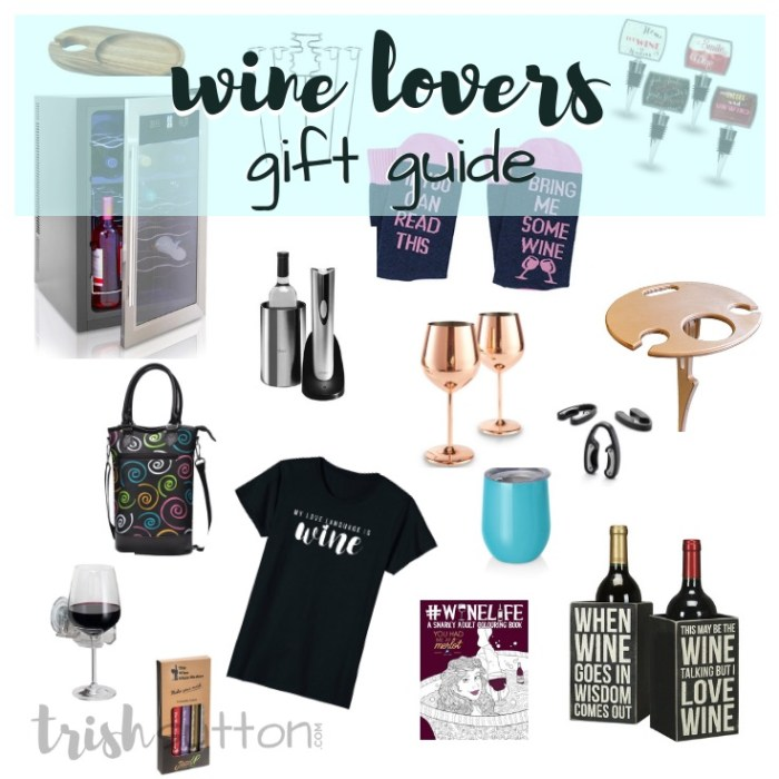 Wine Lovers Gift Guide | 20 Wine Connoisseur Gift Ideas; trishsutton.com #mothersday #fathersday #giftguide #winelovers