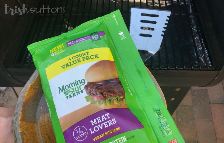Make room on your grill for a healthier meal solution. Greek Veggie Burgers with Feta Cucumber Sauce. #AD #MorningStarFarms #MakeRoomOnYourGrill