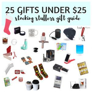 Stocking Stuffers Gift Guide | 25 Small Gifts Under $25 TrishSutton.com
