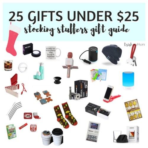 Stocking Stuffers Gift Guide | 25 Small Gifts Under $25 TrishSutton.com