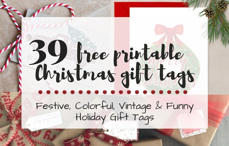 photo about Free Printable Holiday Tags named Printable Xmas Reward Tags No cost Printable Holiday vacation Tags