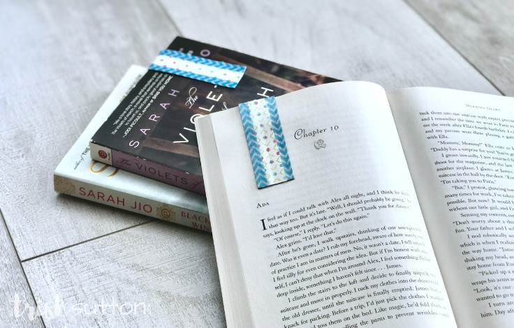 Create a non-slip magnet bookmark sure to hug book pages so tight that you never lose your place again.Magnet Bookmark | Upcycled Non-Slip Page Marker. TrishSutton.com