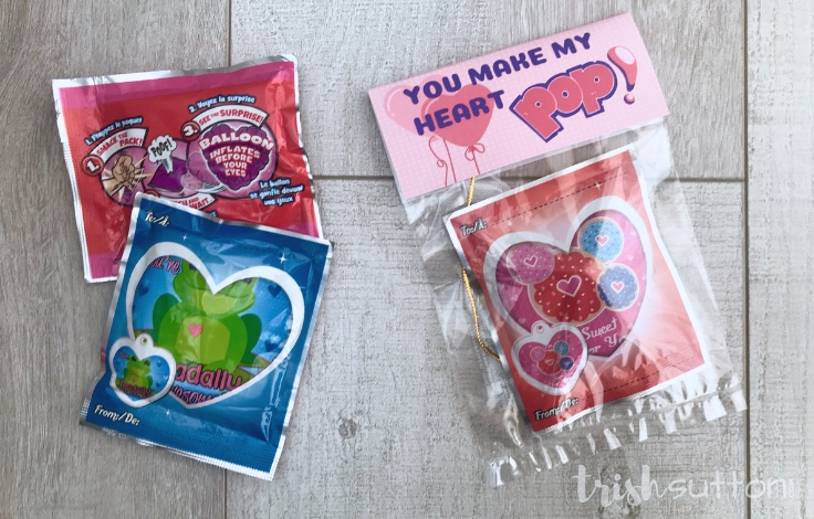 Wack-A-Pack Valentine Printable | You Make My Heart Pop TrishSutton.com