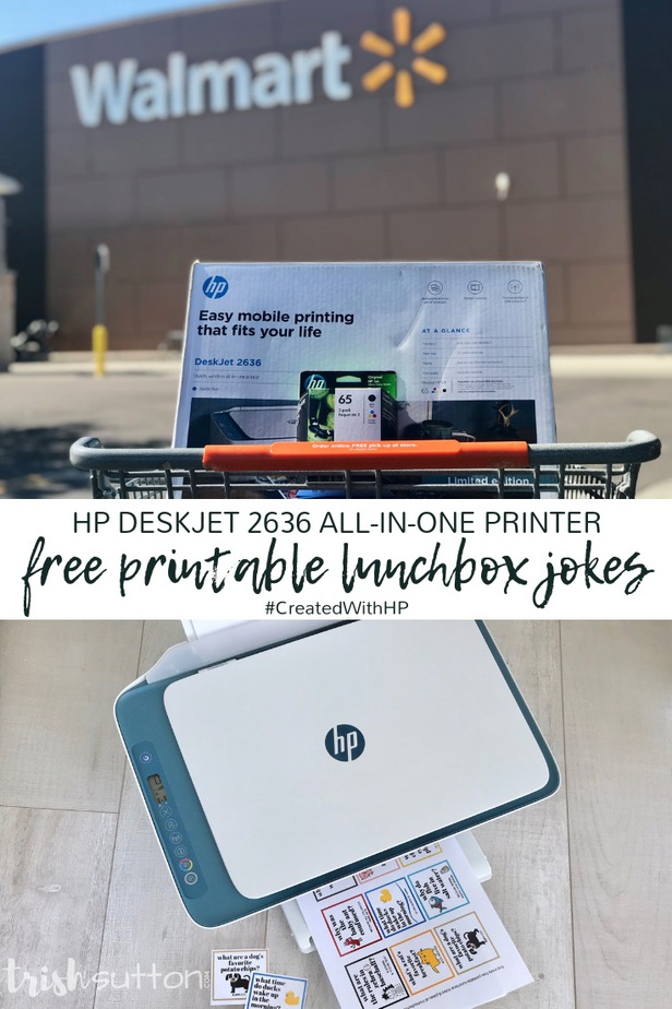 Lunchbox Jokes Free Printable for Kids | Silly Animal Jokes TrishSutton.com #CreatedWithHP #ad
