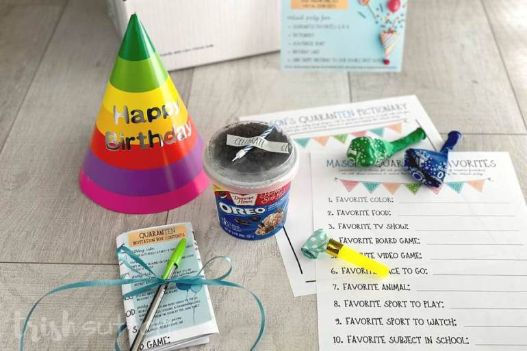 Virtual Birthday Party Box
