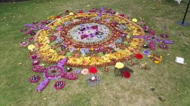 Mandala Inverness Botanic Gardens