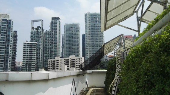 View of Singapore skyline from Comcrop