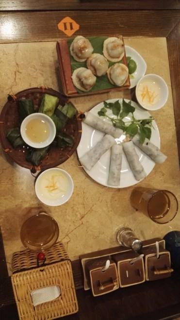 Net Hue dinner Hanoi