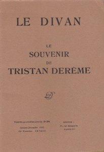 Le souvenir de Tristan Derème