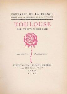 Toulouse page de grand titre