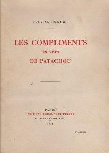 couverture des Compliments en vers de Patachou