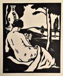 1923 - Quatre poèmes - dessin de Gabriel Charlepeau