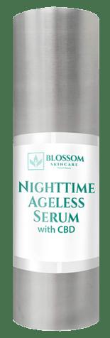 blossom nighttime ageless serum