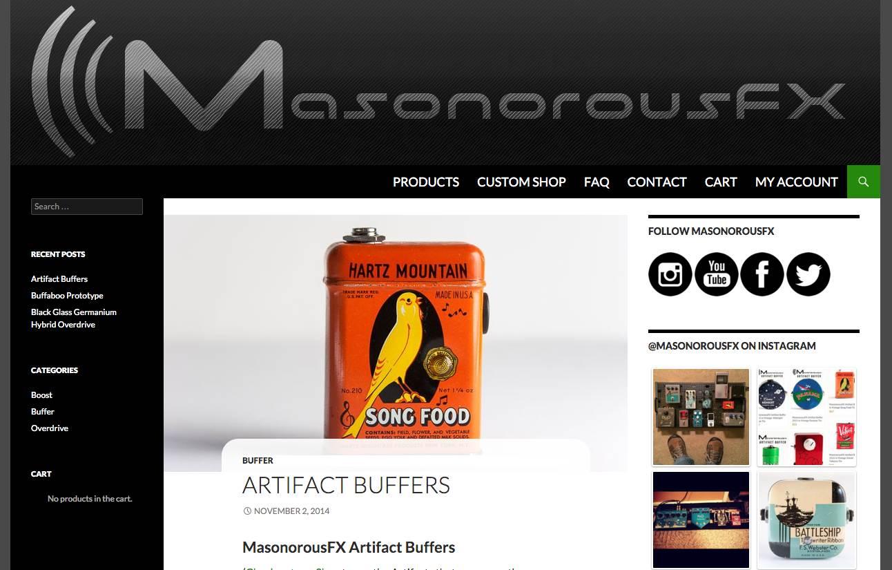 Web & Graphic Design: MasonorousFX