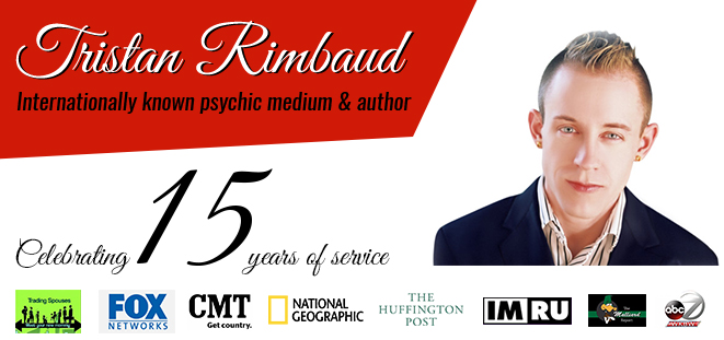 Psychic Medium Tristan Rimbaud Celebrating 15 Years