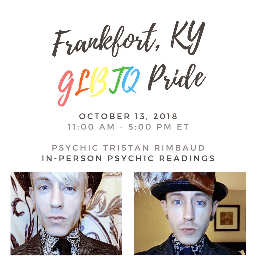 Psychic Tristan Rimbaud Capital Pride 2018