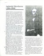 Nathaniel Hawthorne Article