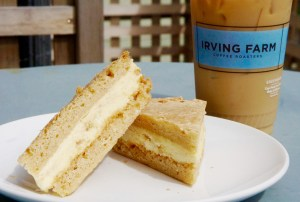 Iced Coffee and a Treat from Irving Farm in Millerton
