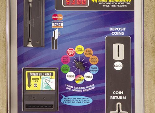 Car Wash In Bay Meter distributed by Tri State Car Wash Solutions