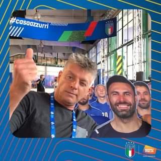 Abbiamo inaugurato gli studi di Radio Italia a Casa Azzurri, il campo base della Nazionale…