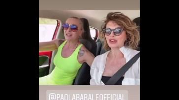 Alba Parietti e Paola Barale a Ibiza #ibiza #gossip