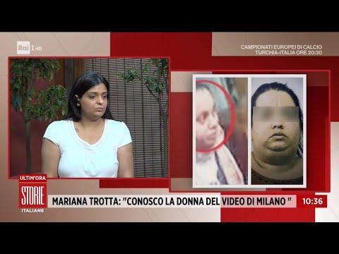 """Denise Pipitone, Mariana Trotta: """"Conosco la donna del video di Milano"""" – Storie italiane 11/06/2021"""