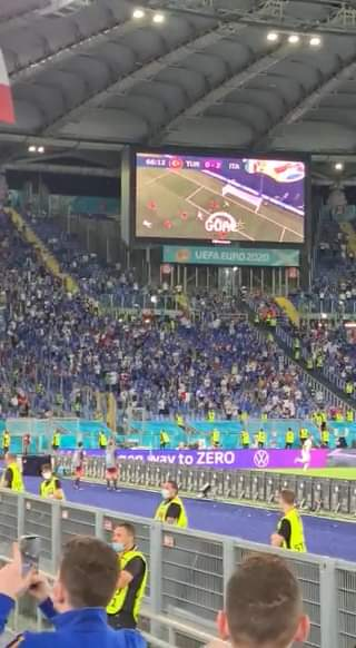 Finita! Turchia-Italia 0-3 e sugli spalti dell'Olimpico torna il coro dei Mondiali 2006……
