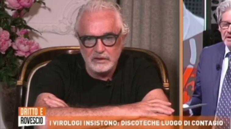 """Flavio Briatore intervento a dritto e rovescio """"riaperture discoteche e lavoro giovani"""""""