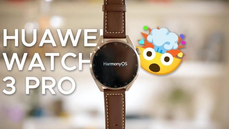 HUAWEI WATCH 3 Pro con HarmonyOS: la RECENSIONE