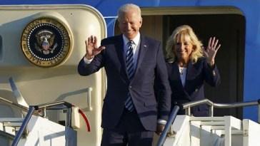 Joe Biden arriva in Europa. Parteciperà al G7 e incontrerà Putin