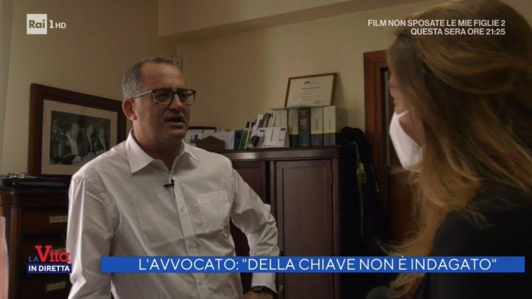 """L'avvocato: """"Giuseppe Della Chiave non è indagato"""" – La vita in diretta 10/06/2021"""