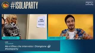 WOOOOOO! Vera Gemma, Jedà ed Elisa Isoardi! Twittate con #ISOLAPARTY per interagire in di…