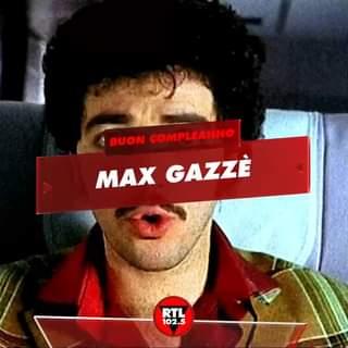 """Buon compleanno a """"Il farmacista"""" della musica italiana Max Gazzè #buoncompleanno #rtl102…"""