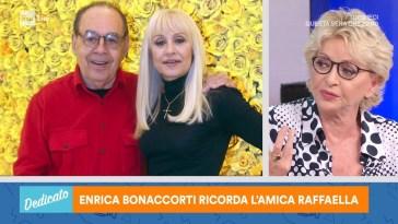 Enrica Bonaccorti ricorda l'amica Raffaella – Dedicato 09/07/2021