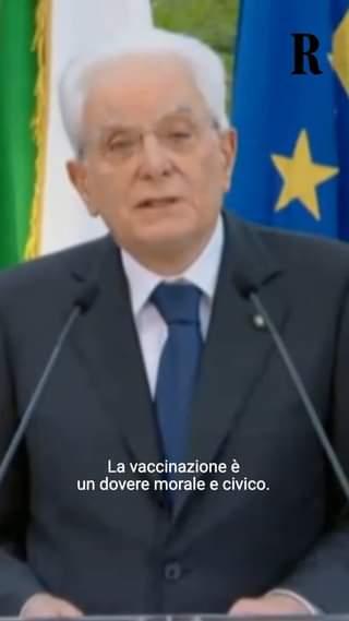Il presidente della Repubblica Sergio Mattarella ha chiuso la tradizionale cerimonia del V…