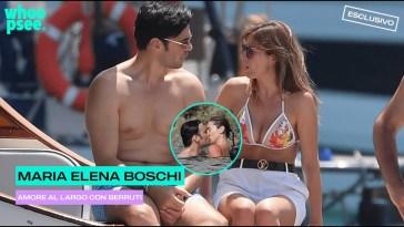 Maria Elena Boschi: Amore al largo con Berruti