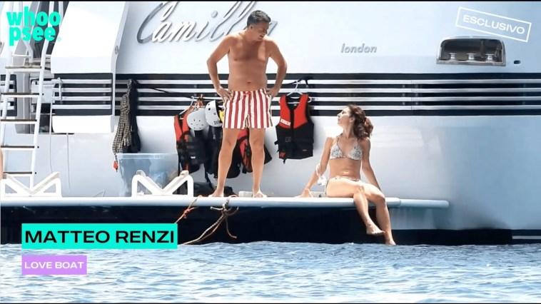 Matteo Renzi: love boat