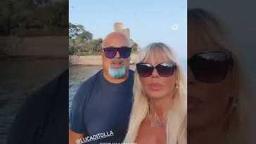Matilde Brandi e Giovanni Giacci in vacanza prima dello spettacolo al teatro #Shorts