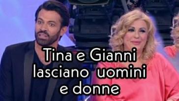 Uomini e donne ,Gianni Sperti e Tina Cipollari lasciano il programma .