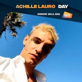 Appuntamento su Corriere a @RadioItalia con l'Achille Lauro Day. Martedi 28 settembre. Non…