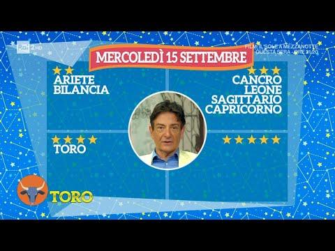 L'oroscopo di Paolo Fox – I Fatti Vostri 15/09/2021