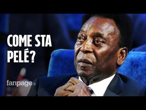 """Pelé torna a sorridere dopo l'intervento: """"Papà sta bene, non soffre ed è di buon umore"""""""