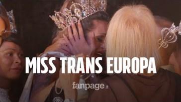 """Torna Miss Trans Europa con un omaggio a Raffaella Carrà: """"La gioia dopo un anno durissimo"""""""