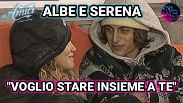 """Amici di Maria De Filippi, Albe si dichiara a Serena: """"Voglio stare insieme a te"""". È nata la prima vera coppia?"""