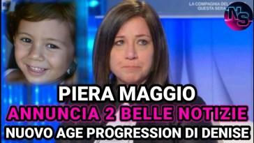 Denise Pipitone, Piera Maggio annuncia due belle e importanti novità sul caso.